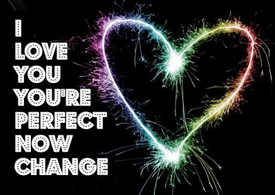 I Love You You're Perfect Now Change (2011/2012)